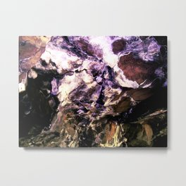 Pony Cave Molting Metal Print