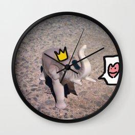 King Elephant Wall Clock