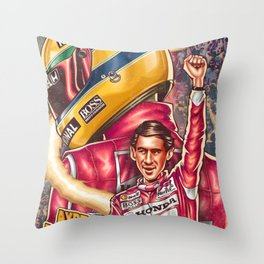 Ayrton Senna do Brasil Throw Pillow