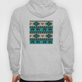 American Native Pattern No. 125 Hoody