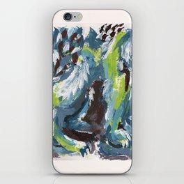 Standing iPhone Skin
