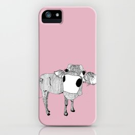 Cowface iPhone Case
