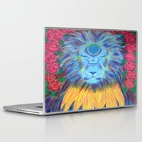grateful dead Laptop & iPad Skins featuring Grateful by SRC Creations