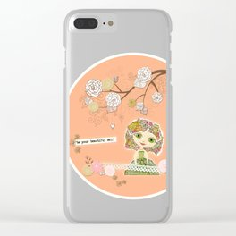 Be Your Beautiful Self Clear iPhone Case