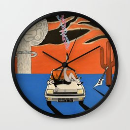 as a courtesy to a client Wall Clock