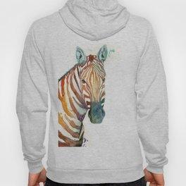 Painted Zebra Hoody