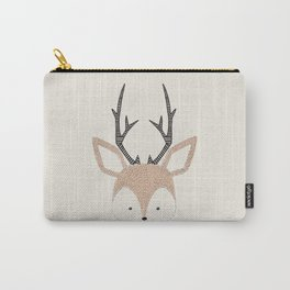 Baby Deer Woodland Animals Cute Fawn Carry-All Pouch