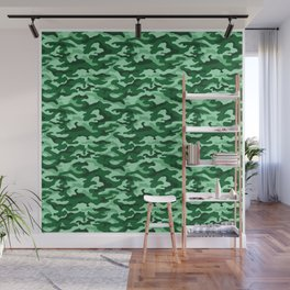Camouflage Pattern | Camo Stealth Hide Military Wall Mural