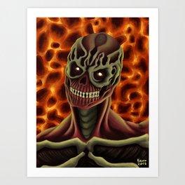 Arch-vile from DOOM Art Print