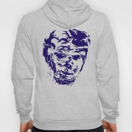 face 10, blue Hoody