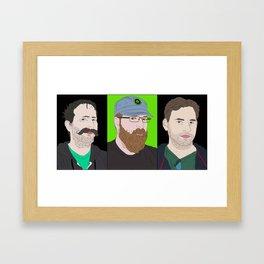 Achievement hunter's gents Framed Art Print