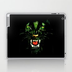 Fierce and Powerful Black Panther Laptop & iPad Skin