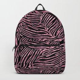Tiger Stripes Rose Gold Backpack