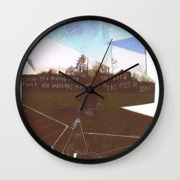 SFT cut up Wall Clock