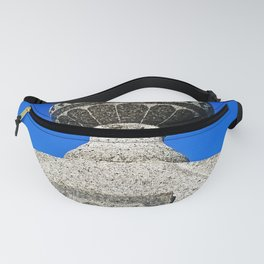 Statue Blue Fanny Pack