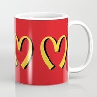 moschino Mugs featuring McDonald's MOSCHINO by RickyRicardo787