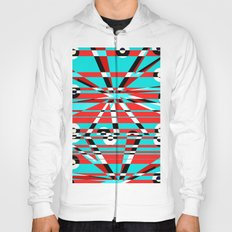Grid Square TV Crazy Hoody