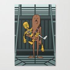 EP5 : Chewie & C3PO Canvas Print