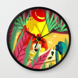 an encounter Wall Clock