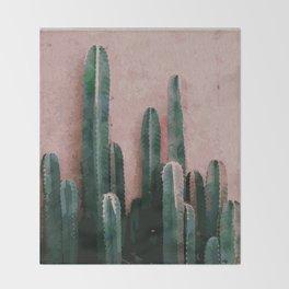 Cactaceae Throw Blanket