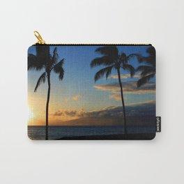 Alii Kahekili Nui Ahumanu Beach Maui Hawaii Sunset Kaanapali Carry-All Pouch