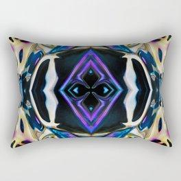 131 - Glass Design Rectangular Pillow