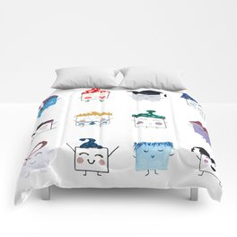MyHappySquare Collection Comforters