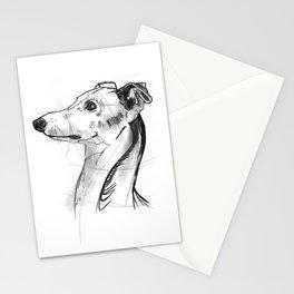 Italian Greyhound Sketch Stationery Cards