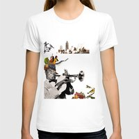 jazz T-shirts featuring Jazz  by Design4u Studio