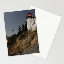 Bass Harbor Head Lighthouse Acadia National Park Stationery Cards