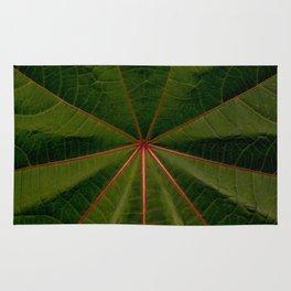 Center of the Leaf Rug