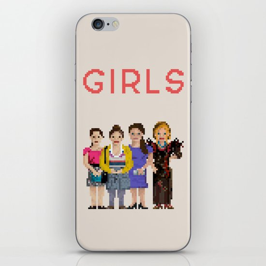 Girls iPhone & iPod Skin
