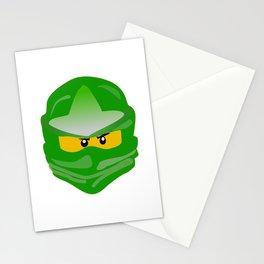Ninjago face Lloyd  Stationery Cards
