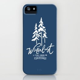 winterlust iPhone Case