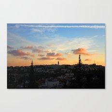 Jerusalem of Light Canvas Print