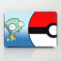 squirtle iPad Cases featuring GIR Squirtle  by Diffro