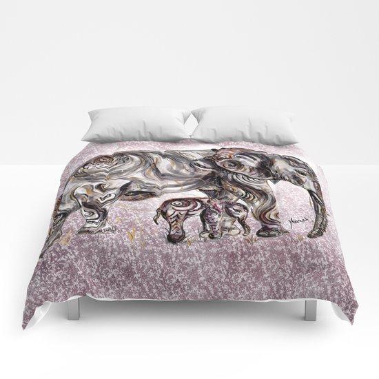 Mom Eephant Comforters