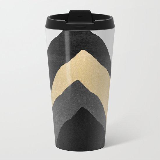 Four Mountains Metal Travel Mug