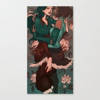 korrasami Canvas Prints featuring Korrasami by Audra Auclair