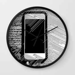iPhone 5 Wolfram Rule 126 Wall Clock