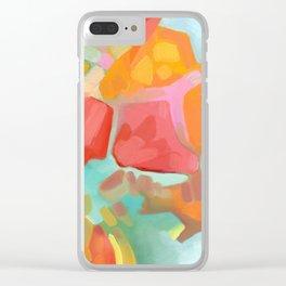Tropicali Clear iPhone Case