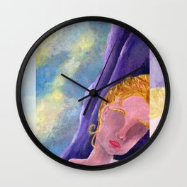 Her, Looking Down Wall Clock