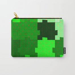green puzzle Carry-All Pouch