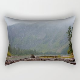 Avalanche Lake Rectangular Pillow