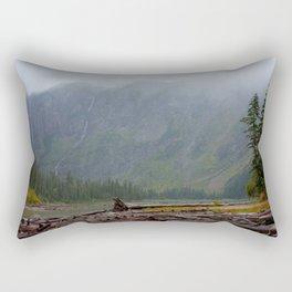 Avalanche Lake Rectangular Pillow