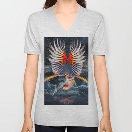 War Goddess Unisex V-Neck