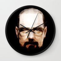 cook Wall Clocks featuring The Cook by skudio