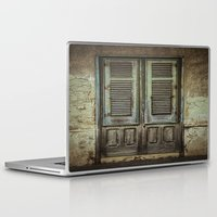 italian Laptop & iPad Skins featuring Italian Door III by Maria Heyens