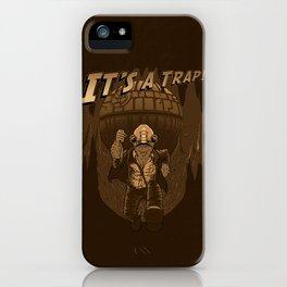 It's a trap!! iPhone Case