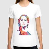 katniss T-shirts featuring Katniss by lauramaahs